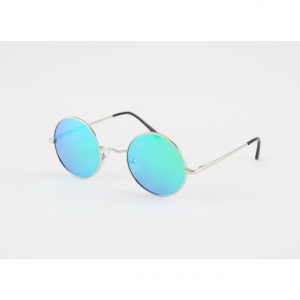 Blue/Green Round Mercury glasses price glasses price in Pakistan sunglasses price sunglasses