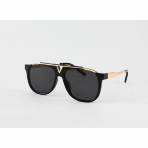 Louis Vuittion - Golden Black glasses price glasses price in Pakistan sunglasses price sunglasses